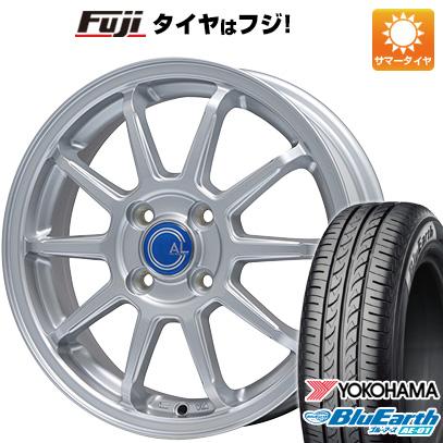 今がお得! 送料無料 ソリオ(MA36S) 165/65R15 15インチ サマータイヤ ホイール4本セット BRANDLE ブランドル M60 4.5J 4.50-15 YOKOHAMA ブルーアース AE-01