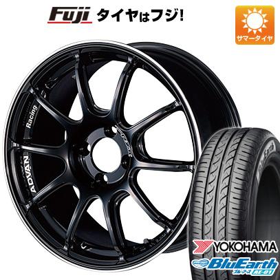 今がお得! 送料無料 N-BOX タントカスタム ワゴンR 165/55R15 15インチ サマータイヤ ホイール4本セット YOKOHAMA ヨコハマ アドバンレーシング RZII 5J 5.00-15 YOKOHAMA ブルーアース AE-01