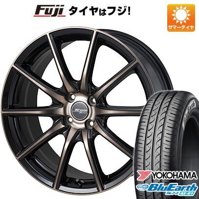 今がお得! 送料無料 165/55R14 14インチ サマータイヤ ホイール4本セット MONZA モンツァ Rバージョンスプリント 4.5J 4.50-14 YOKOHAMA ブルーアース AE-01