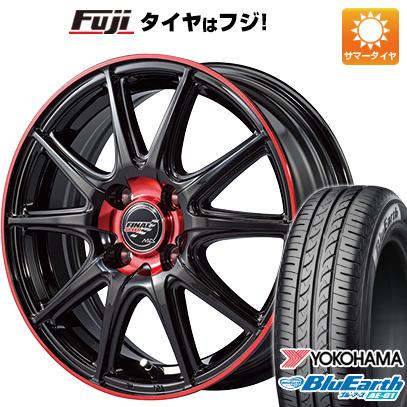 今がお得! 送料無料 ソリオ(MA36S) 165/65R15 15インチ サマータイヤ ホイール4本セット MID ファイナルスピード GR-ボルト 4.5J 4.50-15 YOKOHAMA ブルーアース AE-01