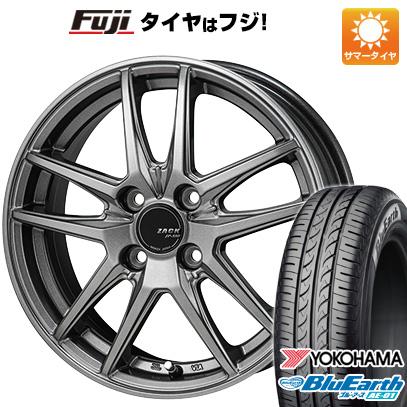 【送料無料】 155/55R14 14インチ MONZA モンツァ ZACK JP-550 4.5J 4.50-14 YOKOHAMA ヨコハマ ブルーアース AE-01 サマータイヤ ホイール4本セット