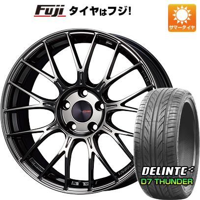 【送料無料】 225/45R18 18インチ ENKEI エンケイ PFM1 Limited 7.5J 7.50-18 DELINTE デリンテ D7 サンダー(限定) サマータイヤ ホイール4本セット