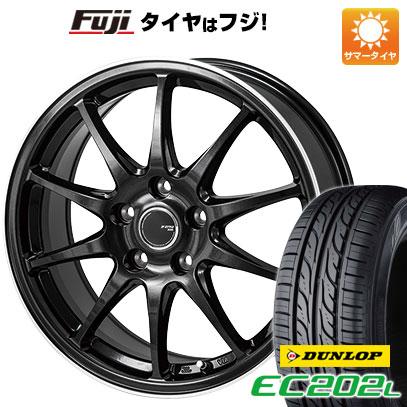 【送料無料】 205/60R16 16インチ MONZA JPスタイル R10 6.5J 6.50-16 DUNLOP ダンロップ EC202L サマータイヤ ホイール4本セット