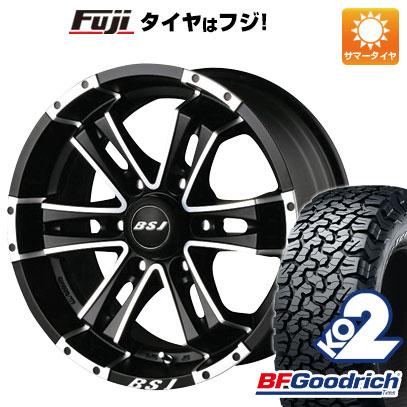 今がお得! 送料無料 275/55R20 20インチ サマータイヤ ホイール4本セット BILLET STAR JAPAN B.S.J JF-006 8.5J 8.50-20 BFG BFグッドリッチ オールテレーンT/A KO2 RBL