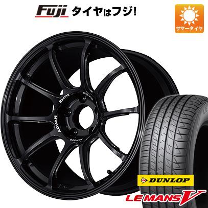 今がお得! 送料無料 215/40R18 18インチ サマータイヤ ホイール4本セット YOKOHAMA アドバンレーシング RZーF2 7.5J 7.50-18 DUNLOP ルマン V(ファイブ)
