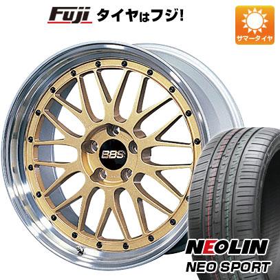 今がお得! 送料無料 245/35R19 19インチ サマータイヤ ホイール4本セット BBS JAPAN BBS LM 8.5J 8.50-19 NEOLIN ネオリン ネオスポーツ(限定)