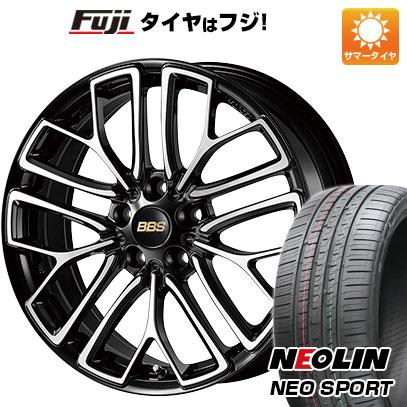 【送料無料】 225/45R18 18インチ BBS JAPAN BBS RE-X 7.5J 7.50-18 NEOLIN ネオリン ネオスポーツ(限定) サマータイヤ ホイール4本セット