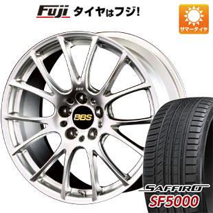 今がお得! 送料無料 225/55R18 18インチ サマータイヤ ホイール4本セット BBS JAPAN BBS RE-V 7.5J 7.50-18 SAFFIRO サフィーロ SF5000(限定)