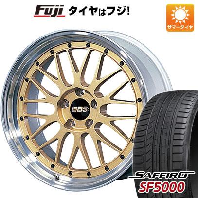 今がお得! 送料無料 235/35R19 19インチ サマータイヤ ホイール4本セット BBS JAPAN BBS LM 8.5J 8.50-19 SAFFIRO サフィーロ SF5000(限定)