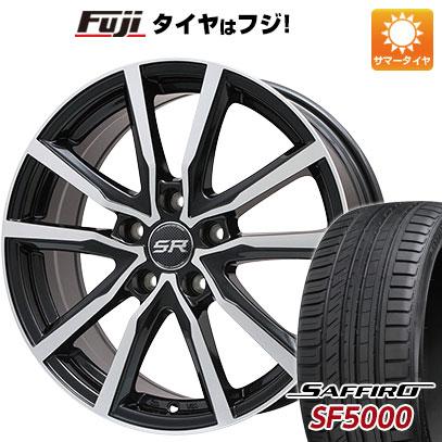 【送料無料】 205/65R15 15インチ BRANDLE ブランドル N52BP 6J 6.00-15 SAFFIRO サフィーロ SF5000(限定) サマータイヤ ホイール4本セット