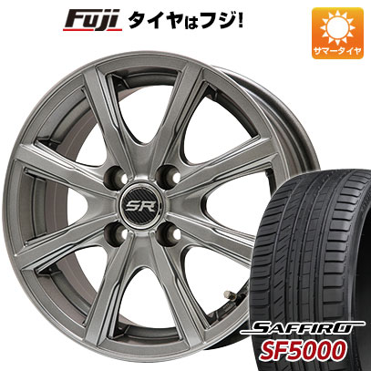 【送料無料】 205/55R16 16インチ BRANDLE ブランドル T8 6J 6.00-16 SAFFIRO サフィーロ SF5000(限定) サマータイヤ ホイール4本セット