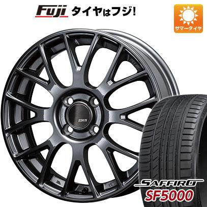 【送料無料】 195/50R16 16インチ SSR GTV04 6J 6.00-16 SAFFIRO サフィーロ SF5000(限定) サマータイヤ ホイール4本セット