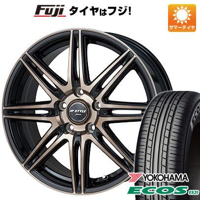 今がお得! 送料無料 195/60R16 16インチ サマータイヤ ホイール4本セット MONZA モンツァ JPスタイルジェリバ 6.5J 6.50-16 YOKOHAMA エコス ES31