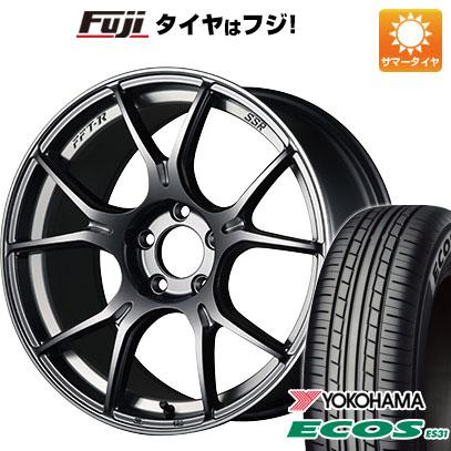 今がお得! 送料無料 215/45R17 17インチ サマータイヤ ホイール4本セット SSR GTX02 7J 7.00-17 YOKOHAMA エコス ES31