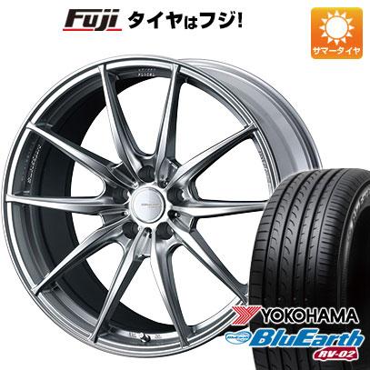 今がお得! 送料無料 245/40R20 20インチ サマータイヤ ホイール4本セット WEDS ウェッズスポーツ FT117 8.5J 8.50-20 YOKOHAMA ブルーアース RV-02