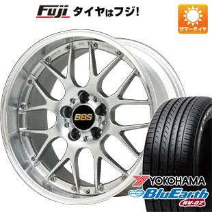 今がお得! 送料無料 215/45R17 17インチ サマータイヤ ホイール4本セット BBS JAPAN BBS RS-GT 7J 7.00-17 YOKOHAMA ブルーアース RV-02