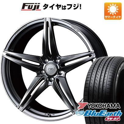 【送料無料】 245/40R20 20インチ WEDS F-ZERO FZ-3 8.5J 8.50-20 YOKOHAMA ヨコハマ ブルーアース RV-02 サマータイヤ ホイール4本セット