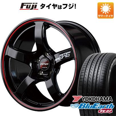 【送料無料】 225/65R17 17インチ MID RMP レーシング R50 7J 7.00-17 YOKOHAMA ヨコハマ ブルーアース RV-02 サマータイヤ ホイール4本セット