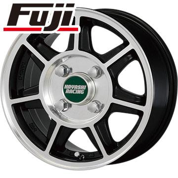今がお得! 送料無料 145/80R12 12インチ サマータイヤ ホイール4本セット HAYASHI RACING ハヤシストリート タイプSF 5J 5.00-12 BRIDGESTONE エコピア R710 80/78N