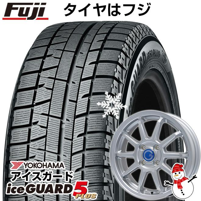 【送料無料】 YOKOHAMA ヨコハマ アイスガード ファイブIG50プラス 155/65R14 14インチ スタッドレスタイヤ ホイール4本セット BRANDLE ブランドル M60 4.5J 4.50-14