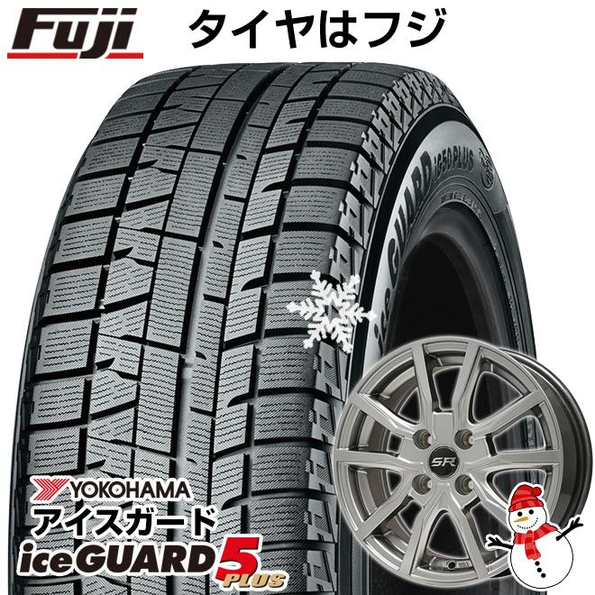 【送料無料】 YOKOHAMA ヨコハマ アイスガード ファイブIG50プラス 155/70R13 13インチ スタッドレスタイヤ ホイール4本セット BRANDLE ブランドル N52 4J 4.00-13