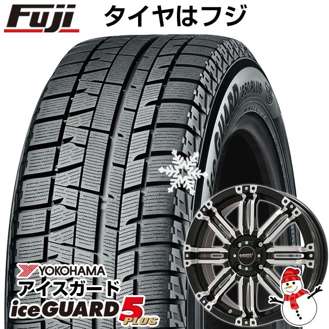 【送料無料】 YOKOHAMA ヨコハマ アイスガード ファイブIG50プラス 165/60R15 15インチ スタッドレスタイヤ ホイール4本セット BIGWAY B-MUD X(ブラックポリッシュ) 4.5J 4.50-15