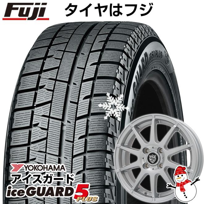 【送料無料】 YOKOHAMA ヨコハマ アイスガード ファイブIG50プラス 155/65R14 14インチ スタッドレスタイヤ ホイール4本セット BRANDLE ブランドル 562SS 4.5J 4.50-14