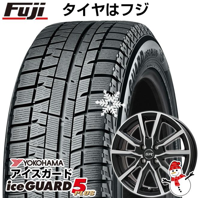 【送料無料】 YOKOHAMA ヨコハマ アイスガード ファイブIG50プラス 155/65R14 14インチ スタッドレスタイヤ ホイール4本セット BRANDLE ブランドル N52BP 4.5J 4.50-14