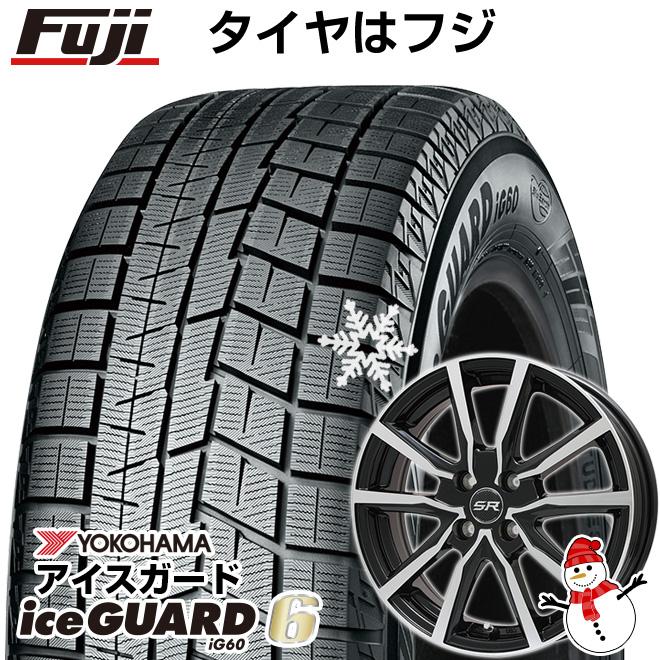 【送料無料】 YOKOHAMA ヨコハマ アイスガード シックスIG60 165/65R14 14インチ スタッドレスタイヤ ホイール4本セット BRANDLE ブランドル N52BP 4.5J 4.50-14