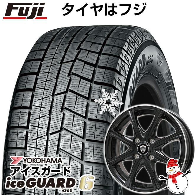 【送料無料】 YOKOHAMA ヨコハマ アイスガード シックスIG60. 155/65R14 14インチ スタッドレスタイヤ ホイール4本セット BRANDLE ブランドル ER16B 4.5J 4.50-14