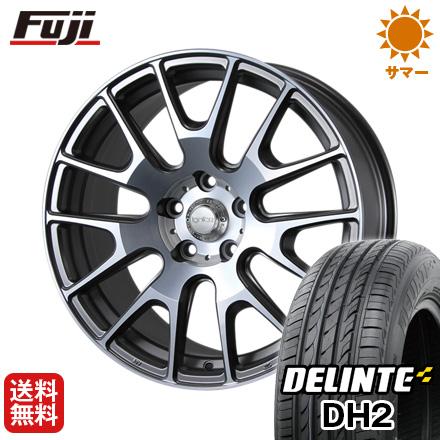今がお得! 送料無料 235/45R18 18インチ サマータイヤ ホイール4本セット MLJ イグナイト エクストラック 7.5J 7.50-18 DELINTE デリンテ DH2(限定)