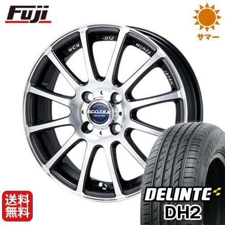 今がお得! 送料無料 205/50R16 16インチ サマータイヤ ホイール4本セット MONZA モンツァ エコテック MCM-012 6J 6.00-16 DELINTE デリンテ DH2(限定)
