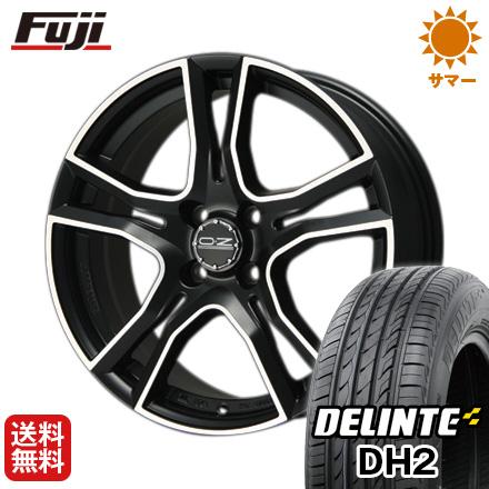 今がお得! 送料無料 185/60R15 15インチ サマータイヤ ホイール4本セット OZ X-LINE アドレナリーナ 6J 6.00-15 DELINTE デリンテ DH2(限定)