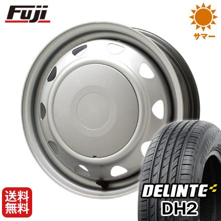 今がお得! 送料無料 175/65R15 15インチ サマータイヤ ホイール4本セット ELBE エルベ オリジナル スチール 5.5J 5.50-15 DELINTE デリンテ DH2(限定)