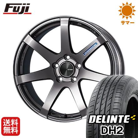 今がお得! 送料無料 205/50R16 16インチ サマータイヤ ホイール4本セット ENKEI エンケイ PF07 7J 7.00-16 DELINTE デリンテ DH2(限定)