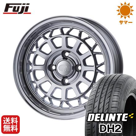 今がお得! 送料無料 185/60R15 15インチ サマータイヤ ホイール4本セット ENKEI エンケイ allシリーズ オールナイン 6J 6.00-15 DELINTE デリンテ DH2(限定)