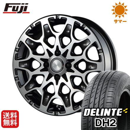 今がお得! 送料無料 165/50R15 15インチ サマータイヤ ホイール4本セット MZ SPEED エムズスピード J694 5J 5.00-15 DELINTE デリンテ DH2(限定)