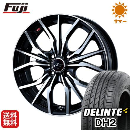 今がお得! 送料無料 165/45R16 16インチ サマータイヤ ホイール4本セット WEDS ウェッズ レオニス LV 5J 5.00-16 DELINTE デリンテ DH2(限定)