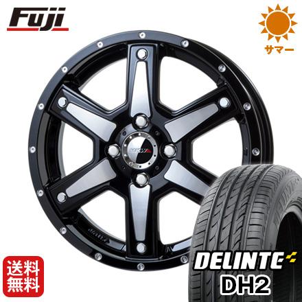 今がお得! 送料無料 165/55R15 15インチ サマータイヤ ホイール4本セット MKW MK-56 4.5J 4.50-15 DELINTE デリンテ DH2(限定)