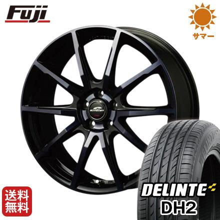 【取付対象】 送料無料 215/65R16 16インチ サマータイヤ ホイール4本セット MID シュナイダー DR-01 6.5J 6.50-16 DELINTE デリンテ DH2(限定)