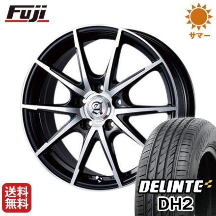 今がお得! 送料無料 235/45R18 18インチ サマータイヤ ホイール4本セット TECHNOPIA テクノピア アドニス JXS 7.5J 7.50-18 DELINTE デリンテ DH2(限定)