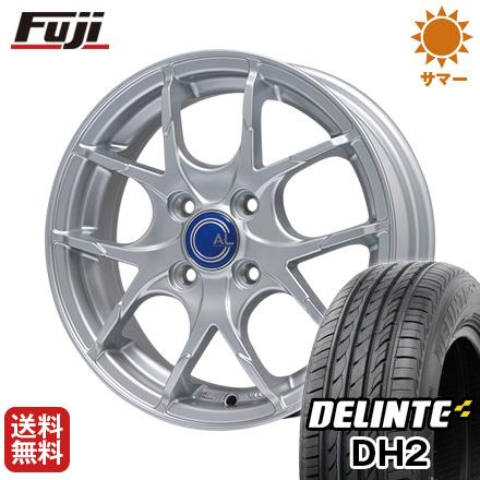 今がお得! 送料無料 165/50R15 15インチ サマータイヤ ホイール4本セット BRANDLE ブランドル M69 4.5J 4.50-15 DELINTE デリンテ DH2(限定)