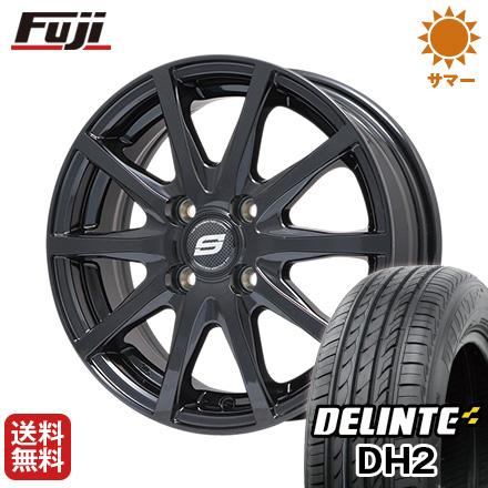 今がお得! 送料無料 205/65R16 16インチ サマータイヤ ホイール4本セット BRANDLE ブランドル M71B 6.5J 6.50-16 DELINTE デリンテ DH2(限定)
