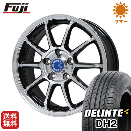 今がお得! 送料無料 215/35R18 18インチ サマータイヤ ホイール4本セット BRANDLE ブランドル M60B 7.5J 7.50-18 DELINTE デリンテ DH2(限定)