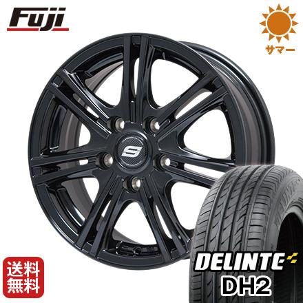 今がお得! 送料無料 205/65R16 16インチ サマータイヤ ホイール4本セット BRANDLE ブランドル M68B 6.5J 6.50-16 DELINTE デリンテ DH2(限定)