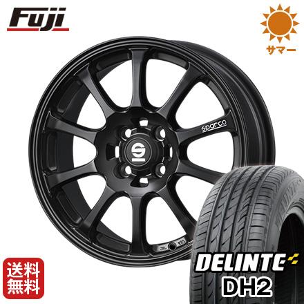 今がお得! 送料無料 175/65R15 15インチ サマータイヤ ホイール4本セット OZ SPARCO ドリフト 6.5J 6.50-15 DELINTE デリンテ DH2(限定)