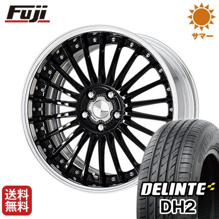 今がお得! 送料無料 225/45R18 18インチ サマータイヤ ホイール4本セット WORK ワーク ランベック LF1 7.5J 7.50-18 DELINTE デリンテ DH2(限定)