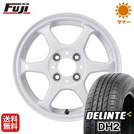 今がお得! 送料無料 165/55R15 15インチ サマータイヤ ホイール4本セット カジュアルセット タイプL 2. 4.5J 4.50-15 DELINTE デリンテ DH2(限定)
