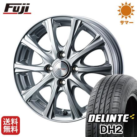 今がお得! 送料無料 175/65R15 15インチ サマータイヤ ホイール4本セット WEDS ウェッズ ジョーカー マジック 5.5J 5.50-15 DELINTE デリンテ DH2(限定)