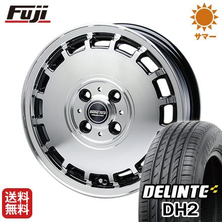 今がお得! 送料無料 155/65R14 14インチ サマータイヤ ホイール4本セット BLEST ブレスト バーンズテック KTストリーム 4.5J 4.50-14 DELINTE デリンテ DH2(限定)